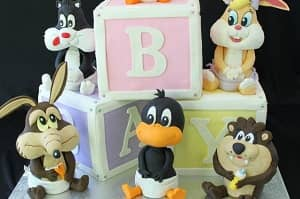 Looney Toons - Baby Shower Cake