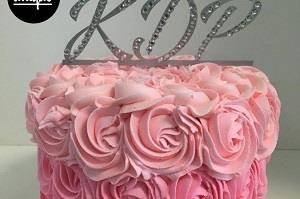 Pink Butter Cream Cakes