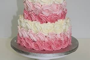 Tiered Butter Cream Cake