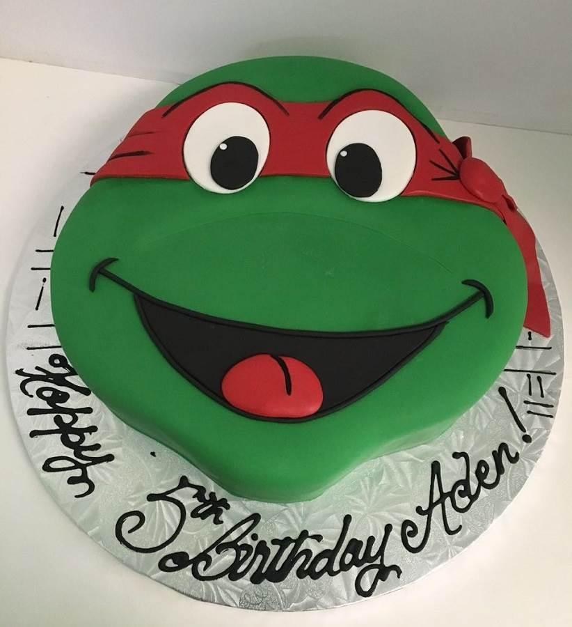 Teenage Mutant Ninja Turtles Birthday Cake Kit
