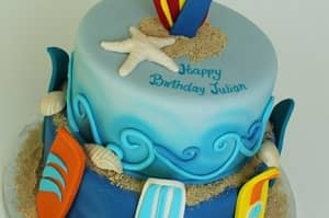 Surf - Birthday Cakes