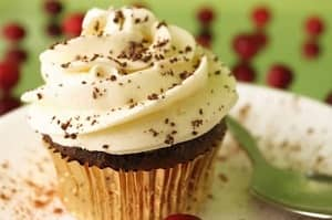 Chocolate Cream Cupcake