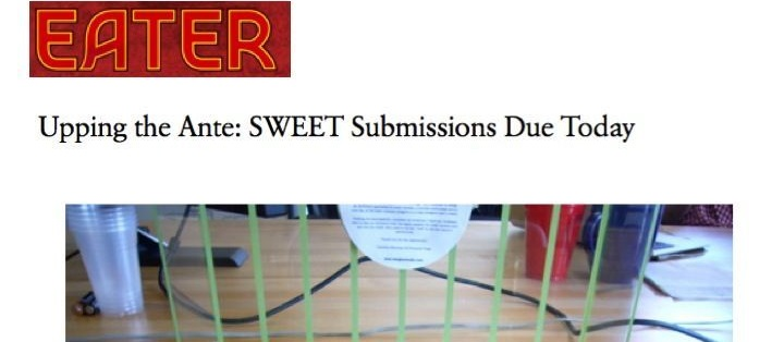 Upping the Ante: Sweet Submissions Due Today
