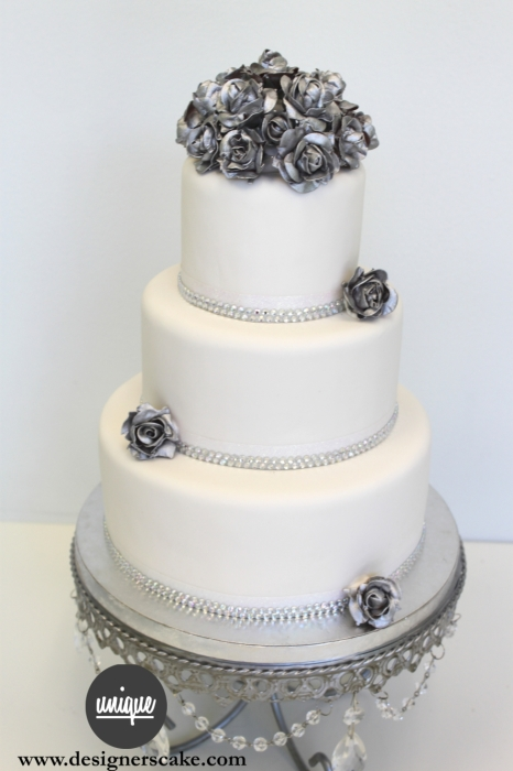 silver wedding cakes wedding cakes best wedding cakes in miami custom cupcakes 19882