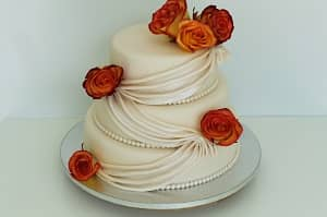 Real Flowers Wedding Cakes