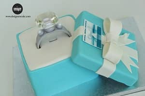 Engagement Wedding Cakes